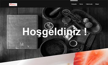 Cafe ve Restaurantlara İnternet Sitesi