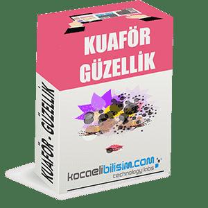 Kuaför / Güzellik Firması İnternet Sitesi